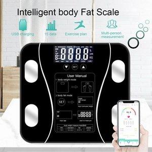 DIDIHOU Body Fat Scale Floor Scientific Smart Electronic LED Digital Weight Bathroom Balance Bluetooth APP Android or IOS Y200106