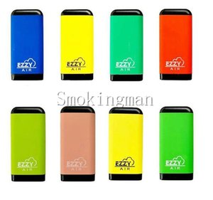 InStock 8 Colors EZZY AIR Disposable Device Pod Vape Pen 2.7ml empty Vaporizer 500puffs Vape Pen E-Cigarettes Pop Xtra Oval Xtra