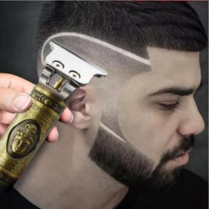 Numérique Tondeuse électrique rechargeable tondeuse à cheveux Barbershop sans fil Tondeuse T-lame outils YYA98 chauve
