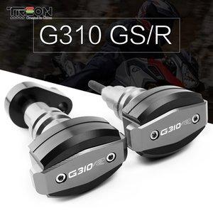 Para G310R G310 R CNC Aluminio Motorycycle Accesorios Marco Deslizadores del motor Crash Falling Protection Cover 1 par