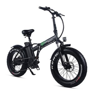 bici 48V 15Ah Lithium Battery 20 Fat Tire elettrico Il forte potere 500W pieghevole elettrica Fat Bike freno a disco grasso Ebike