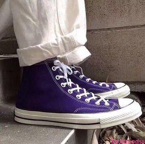2020 chuck 10s all stars fashion Men Women Canvas espadrilles Triple Black Dark Blue Stripe Skateboarding Casual shoes sneakers 36-441b56#