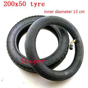 """200x50mmØ neumático 13cm de diámetro interno y el tubo interior 8"""" Mini plegable scooter eléctrico rueda silla de ruedas Gas Scooter Pneumatic Tire"""