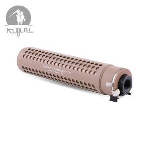M4 AR15 556 개 장난감 금형에 대한 QD 플래시 Hider 키트 쿠빌라이 KAC PDW QD 14mm 네거티브 스레드 소염기