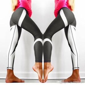 Fittoo pantalones de yoga Sport pantalones de entrenamiento polainas atractivas de cintura alta Pantalones