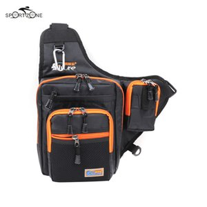 Ilure 32*39*12cm Men Bag Canvas Multi-Purpose Waterproof Outdoor Waist Bags Fishing Reel Lure Bags Fishing Tackle Pesca