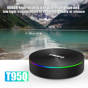 Android TV Box T95Q S905X2 Android 9.0 4 + 32 64GB TV Smart TV Box support double WIFI Bluetooth