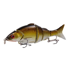 Foreign Trade New Style Lure Bait Multi-section Fish Fake Bait Blood Trough Hook Five-section Bait Long-range Sea Fishing Freshwater Lure Lu