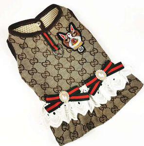 Дизайнерская юбка для домашних животных 2020 новая летняя одежда для домашних животных Аксессуары для кошек и собак бесплатная доставка 03