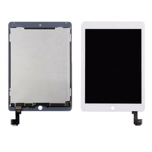 10Pcs New original For iPad Air 2 For iPad 6 A1567 A1566 LCD Display Touch Screen Digitizer Assembly White & Black adhesive
