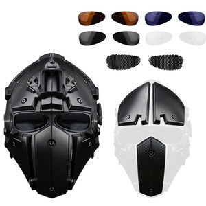 4 Colors Motorcycle Full Face Helmets Moto Racing Bicycle Tactical Helmet Protective Fit  Training Outdoor Cycling