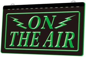 Ls0200 0 On The Air Radio Recording Studio Rgb Multiple Color Remote Control 3d Engraving Led Neon Light Sign Shop Bar Pub Club