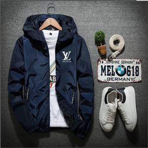 Осень корейской версия большого размера тонких куртка мужчин рыхлая весна и осень одежда тенденция красивой куртка случайной куртка мужской одежда