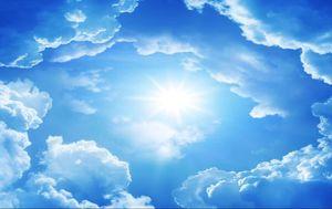 cielo techo fondo de pantalla fondos de pantalla hermoso paisaje Cielo techos mural del techo sol