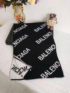 La alta calidad del otoño / invierno marca de moda bufanda diseñadores hombres y mujeres 100% bufanda de lana de punto marca comercial de ocio bufanda el 180 * 30cm