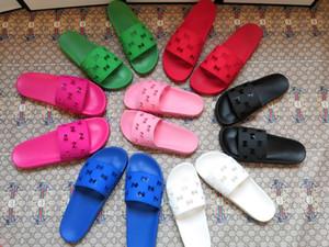 sandales de nouvelle marque arrivée fashiono2020n casual pour les hommes et les femmes, l'effet confortable, pantoufles de marque à bas clé blanc, couleurs multiples vert
