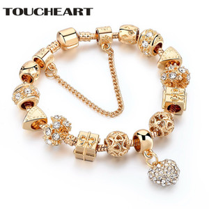 TOUCHEART Wholesale Gold Custom LOVE Handmade Bracelet & Bangles Charm For Women Jewelry Making Bracelets SBR170009