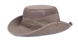 Spring summer outdoor sun hat cotton net hat ladies mountaineering hat