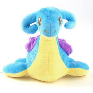 25 cm juguete animado Presente Lapras relleno suave de dibujos animados muñecos de peluche de juguete niños muñeca del regalo del niño
