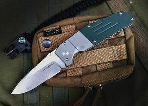 regalo Benchmade 7505 M390 lama di caccia tasca coltello pieghevole coltelli lega di titanio + verde G10 natale Adker A3040