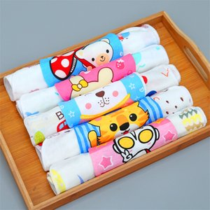 Pure cotton cartoon children tooth baby special skin-friendly face tooth absorbent soft environmental protection dyeing