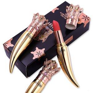 DHL FREE UCANBE Marque Velvet Matte Lipstick Ensemble de luxe Reine Couronne Crème Stick Lèvres Douceur Rose nue maquillage waterproof cosmétiques Lasting