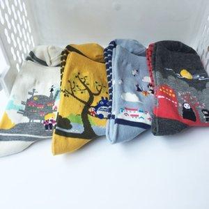 Cartoon Anime Kikis Service Delivery Tonari no Totoro Hayao Miyazaki No Face Femmes Chaussettes chaudes Coton drôle mignon Kawaii Art Sock