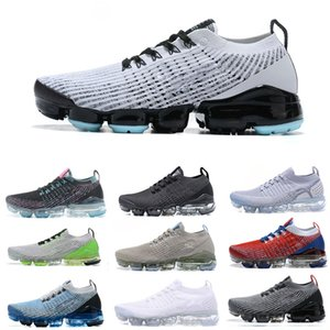 2020 2.0 Knit USA zapatos para correr 3.0 Moc mosca Triple Negro Blanco Gris Juventud Femenina Vaporms multicolor Atlética 4 de julio Trainer zapatillas de chicos