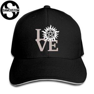 SAMCUSTOM Four Seasons universale Casual Cap Estate ombrellone dell'amore creatore di Supernatural stampa 3D visiere Sandwich Cap