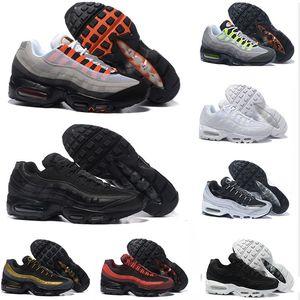 20 anos de aniversário Running Shoes Men Almofada 95s OG Sneakers Boots Autêntico 95s New Walking Desconto Calçados Esportivos Tamanho 5.5-12