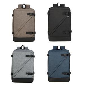 Hommes femmes voyage sac à dos en nylon durable sac à bandoulière unisexe affaires ou loisirs sac de transport pour ordinateur portable 4 couleurs