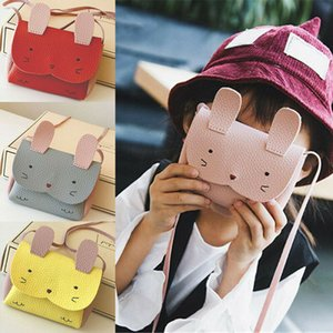 NoEnName-Null Sweet Baby Crianças meninas PU bolsa de couro Messenger Bag Crossbody Satchel Bags