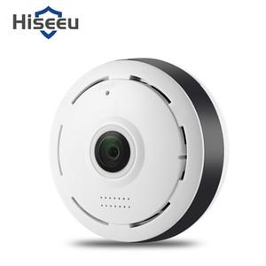 Hiseeu HSY - P6 HD 960P Wireless WiFi IP Indoor Telecamera di sicurezza 360 gradi Fisheye / IR Night Vision / P2P / Motion Detection