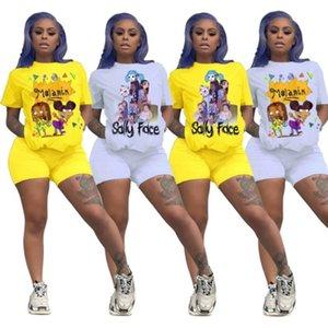إمرأة الرياضية قصير الأكمام ملابس قميص السراويل اثنين من قطعة مجموعة نحيل قميص السراويل الرياضة تناسب السترة الجوارب الساخنة klw3722 بيع