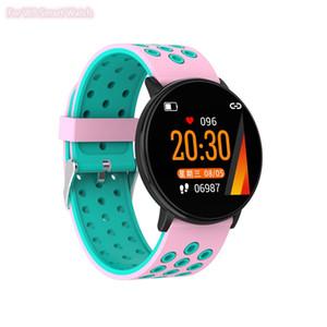 삼성 시계 피트니스 추적자 팔찌 여성 심장 박동 모니터 Smartwatch를 방수 스포츠 시계가 iOS 안드로이드에 대한 W8 스마트 시계
