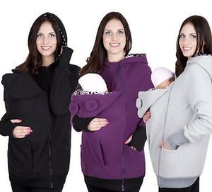 hoody manica lunga 2016 nuova donne incinte cappotto con cappuccio Maglia con cappuccio vestiti del bambino di protezione autunno