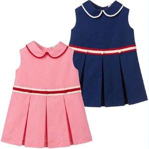 Mihkalev Cotton Kids Dress For Girl 2020 Summer Sundress 2-8Y Baby Girls Ruffles Princess Dresses Children Beach Dress vestido3OkO#