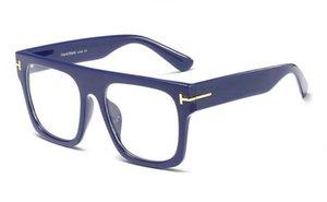 Gözlük Kutusu Moda Qualtiy Yeni Adam Erika Ford Güneş Gözlüğü Büyük Yeni Üst Kadın Tom Tasarımcı Marka Güneş Gözlükleri Orijinal 709 Tom Qxamd