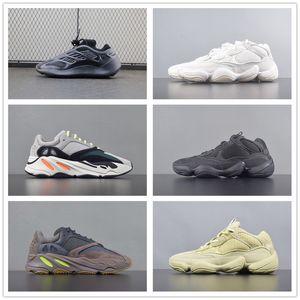 Satış Moda 700 V2 Dalga Runner Atalet Ayakkabı Alvah Azael 700s V3 Yüksek Kalite Vanta Tephra Erkekler ve Kadınlar Sneakers Boyut 36-45 Koşu