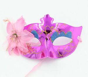 Halloween-Schönheits-Masken-Seitenblumen-Masken-Partei liefert Prinzessin Venice Mask WL409