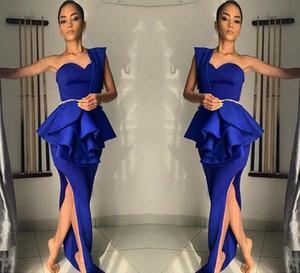 Вечернее платье Zuhair Murad с сексуальным разрезом на вечеринку Вечернее платье с круглым вырезом с баской и оборками Тюль Вечерние платья с застежкой-молнией Назад выполненные на заказ театрализованные платья