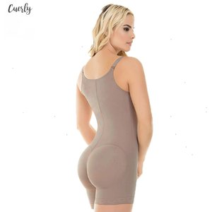 Women Thigh Slimmer Full Body Shaper Tummy Control Plus Size Shapewear Seamless Bodysuit Postpartum Underwear Fajas Colombianas