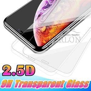 Ekran Koruyucu 9 H Temperli Cam Ultra Clear Paramparça Kanıtı iPhone 11 Için Pro XS MAX XR Samsung A6 A8 J7 2018 A9 PRO 2019