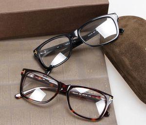 Hotsale TF5176 style monture de qualité pure-planche plein-jante lunettes de vue frame54-18-145 lunettes complet-set cas gros freeshipping