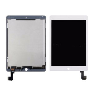 5Pcs Schermo Display LCD Assembly per iPad Air 2 2nd Gen A1566 A1567 + Adhesive sostituzione DHL
