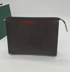 High quality designer  purses men POCHETTE VOYAGE handbag designer travel toiletry pouch clutch bag women waterproof cosmetic bags