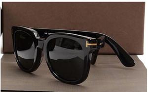 Luxo-2019 Hot luxo superior qualtiy Novos Moda Tom óculos de sol para o homem Mulher Erika Eyewear ford Designer Marca óculos de sol com caixa original