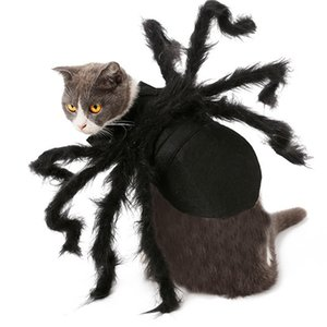 Spider Dog Costume Halloween Spider Pet Costumes Outfit Apparel Furry Spider Legs