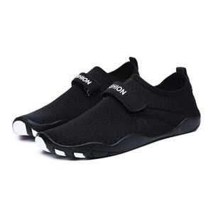 Venta-Nuevo fresca caliente de verano para jóvenes de fitness Cruz-Entrenamiento de los pares Mujeres linda zapatillas de deporte de conducción viaje Joker Zapatos de buceo