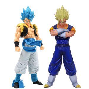 Dragon Ball Z Vegetto Gogeta Action Figure Super Saiyan Toys Dragon Ball Super Anime Goku Vegeta Figurine Collectible Toy T200704
